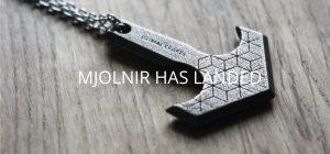 mjolnir hammer steel pendant