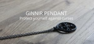 norse mythology viking curse pendant